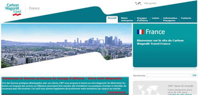 le site ce carlson wagonlit travel.