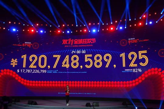 Le 11/11d'Alibaba: un record de ventes... et un aperçu du commerce du futur