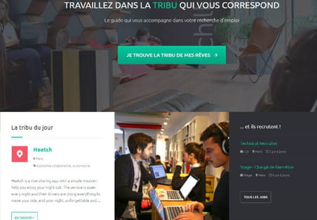Welcome to the Jungle, le site qui permet de recruter la génération Z