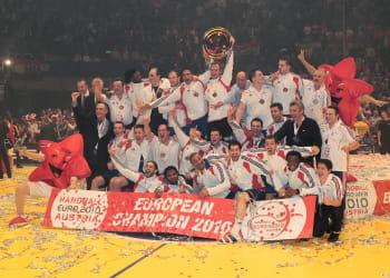 l'équipe de france masculine de handball multiplie les victoires.