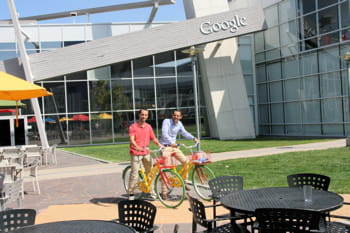 le siège de google, à mountain view.