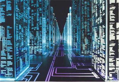 dans hackers (1995), une intrusion informatique devient une véritable plongée