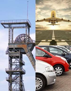 exone a conquis différents secteurs du monde de l'industrie.