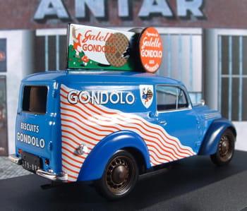 on retrouve parfois la marque sur des miniatures automobiles de collection.