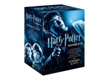 coffret intégrale 6 dvd harry potter, 35 euros.