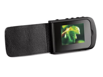 un album photo numérique de poche qui peut contenir jusqu'à 2000 photos.