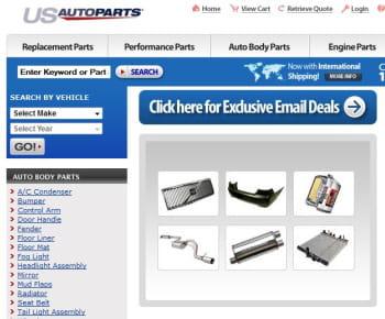 us auto parts network est le 1er e-marchand us de la catégorie 'pièces détachées