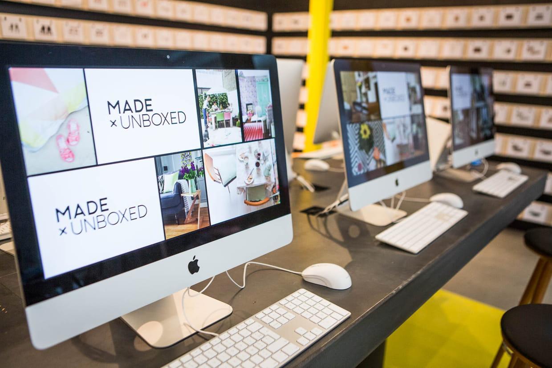 unboxed le showroom social. Black Bedroom Furniture Sets. Home Design Ideas