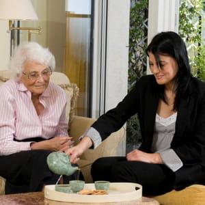 senior compagnie s'est spécialisée sur le créneau de l'aide à domicile pour