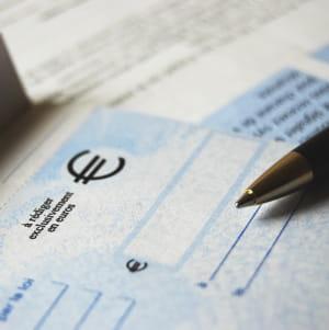 faire un gros chèque est aussi un risque professionnel.