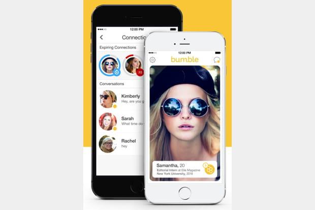 Bumble est un app de rencontre qui incite les filles à faire le premier pas