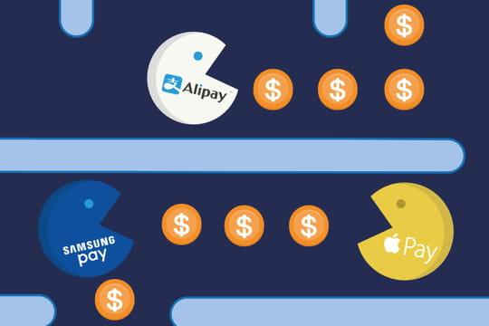 Quel géant du Web remportera la bataille du m-paiement?