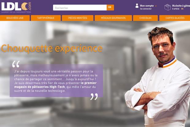 LDLC.com ouvre le 1er site de e-pâtisserie au monde