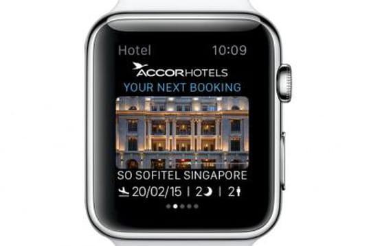 Comment Accor veut profiter de l'Apple Watch