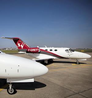 wijet loue des jets privés pour 2200euros de l'heure.