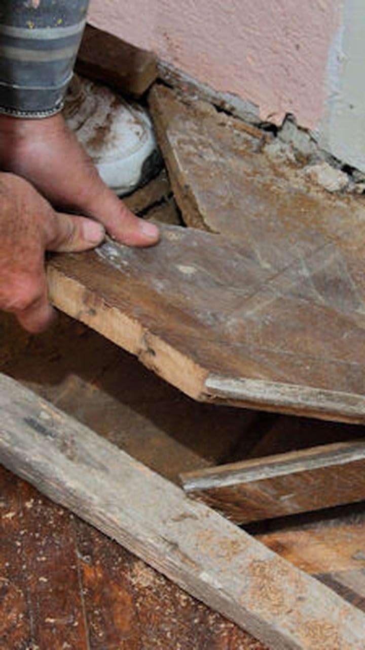 Refaire Fondation Maison Ancienne vérifiez l'état de la charpente
