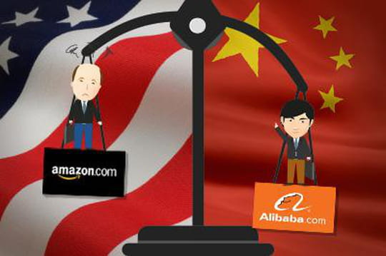 Comparaison Alibaba Amazon