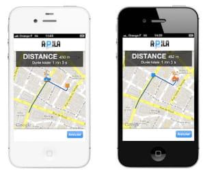 apila est une application qui permet de trouver rapidement une place de parking