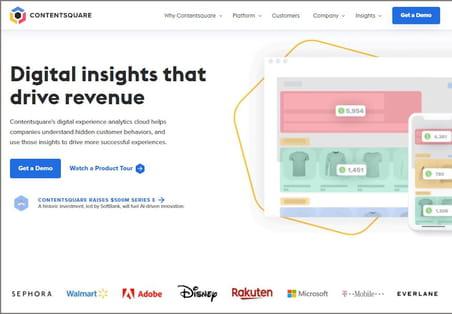Comparatif des outils d'UX optimization: le français ContentSquare s'impose