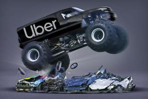 Audience des VTC: Uber roule sur la concurrence