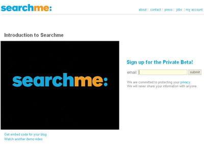 moteur de recherche search me