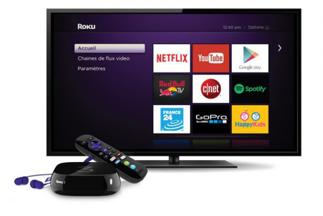 streaming tv roku arrive en france pour concurrencer chromecast et l 39 apple tv. Black Bedroom Furniture Sets. Home Design Ideas