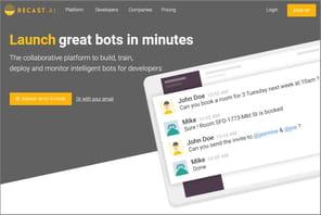 Recast.ai: cette plateforme française de création de bots qui monte