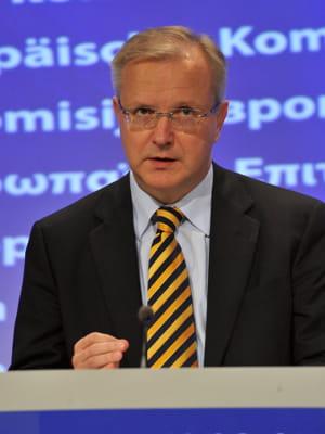 olli rehn, commissaire européen aux affaires économiques.