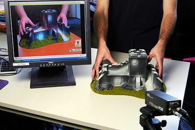 technologie de réalité augmentée en temps réel