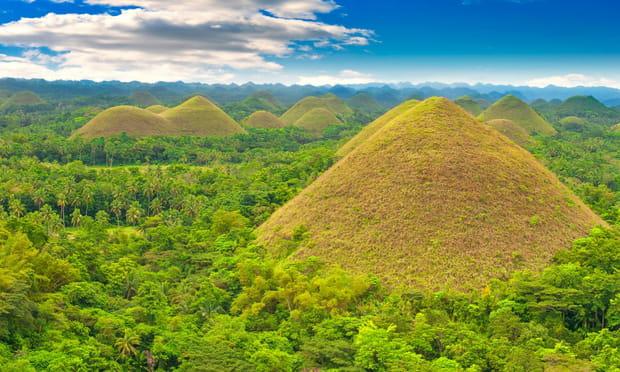 Ile de Bohol, (Philippines): chocolatée