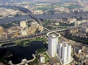 la ville se caractérise par une augmentation vertigineuse de la richesse créée