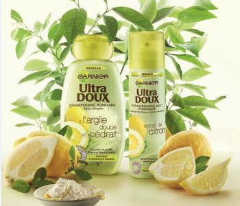 shampoing sec garnier citrus, 6,50euros.