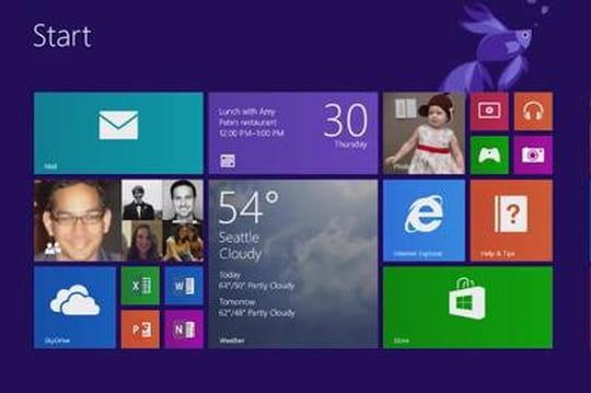 Microsoft décline Office pour Windows8tactile