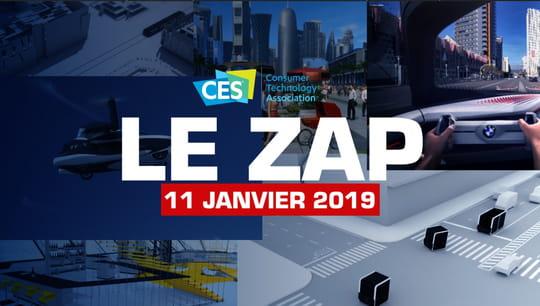 Zap CES2019: les produits stars du Consumer Electronics Show en vidéo