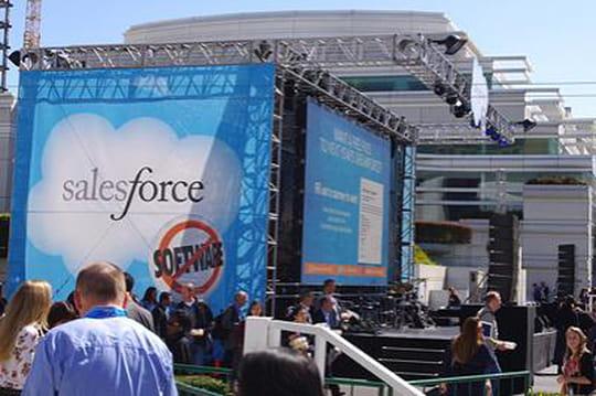 Dreamforce : Salesforce met le cap sur l'entreprise mobile