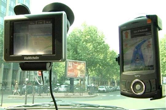 Récepteurs GPS bénéficiants de l'info trafic