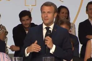 Emmanuel Macron annonce un investissement de 5milliards d'euros dans la French tech