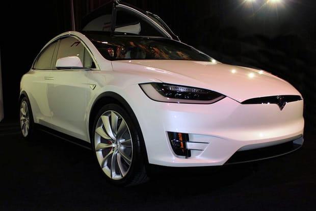 Voici la Model X d'un client