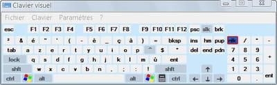 clavier virtuel