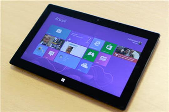 Windows8: un taux de pénétration de 8%en France