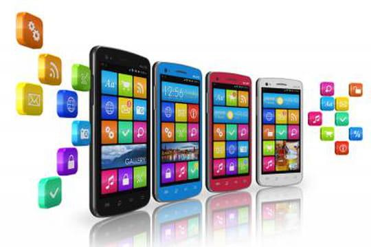 102milliards d'applications téléchargées sur les App Store en 2013