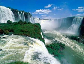 les chutes d'iguazu, côté brésilien.