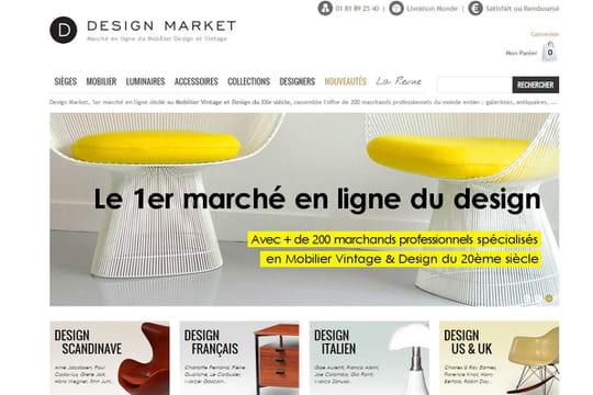 Confidentiel : l'e-commerçant de mobilier vintage Design Market lève 400 000 euros