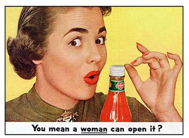 Publicités sexistes années 1950-1970
