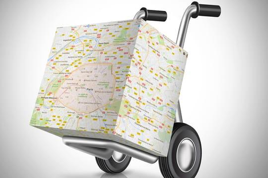 La géolocalisation du livreur, nouvel impératif de l'e-commerce