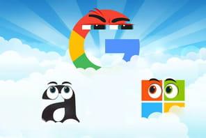 Plateformes cloud d'IA: Amazon et Microsoft distancés par Google