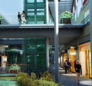 le centre commercial polygone béziers à béziers comprendra 144boutiques sur