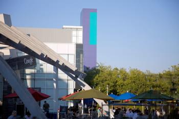 terrasse à mountain view, où se trouve le siège de google.