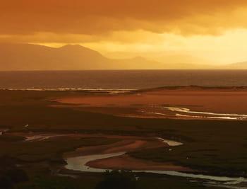 vue de la baie de newport.
