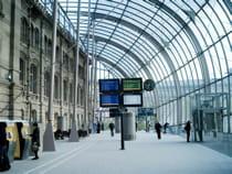 la gare de starsbourg.